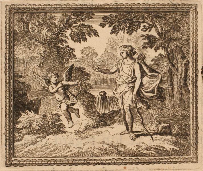 Les Métamorphoses d'Ovide : Querelle d'Amour et d'Apollon_0