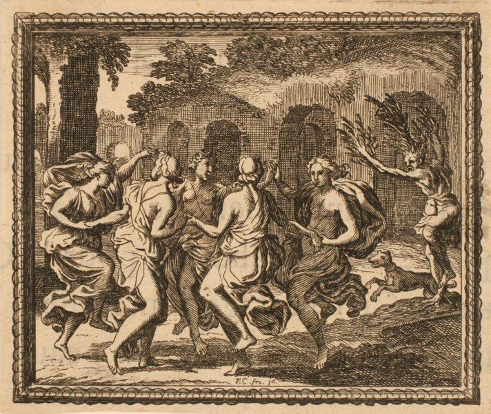 Les Métamorphoses d'Ovide : Daphné transformée en laurier_0