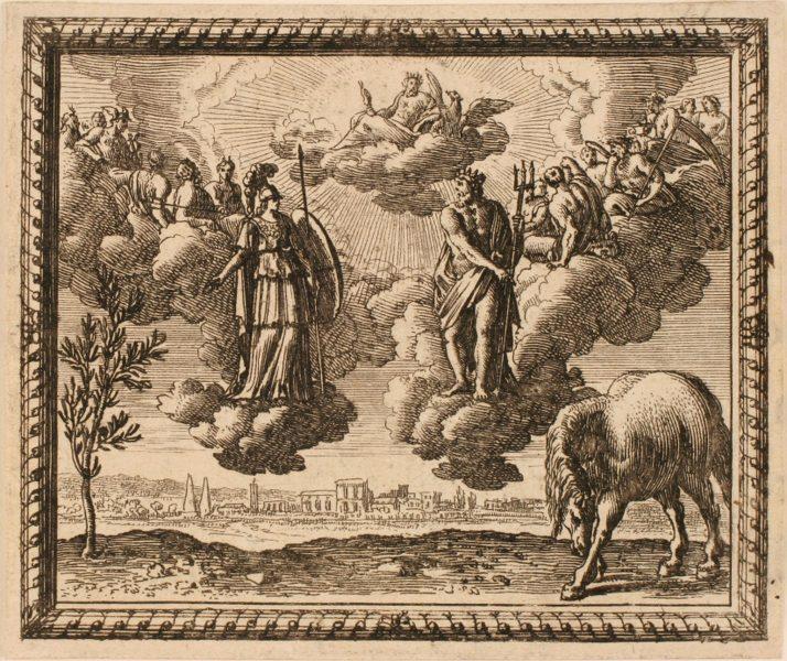 Les Métamorphoses d'Ovide : Dispute de Minerve et de Neptune
