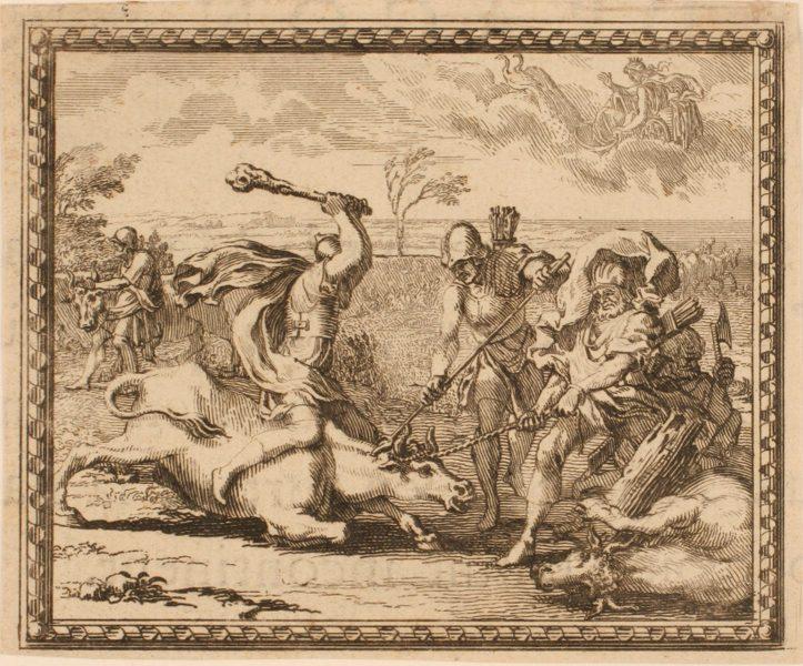 Les Métamorphoses d'Ovide : Hercule et le taureau de Crète_0