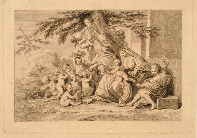 Sainte Famille Della Torre (Détail)
