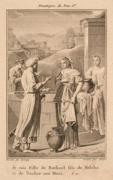 Frontispice ; La fille de Bathael