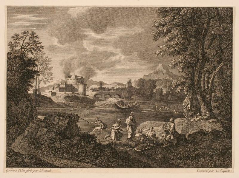 Paysage avec Orphée et Eurydice_0