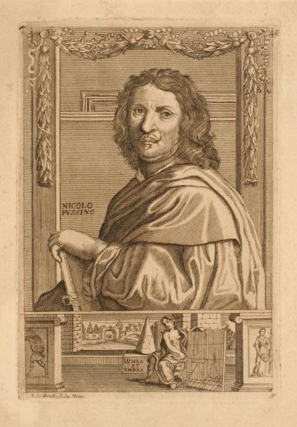 Portrait de Nicolas Poussin