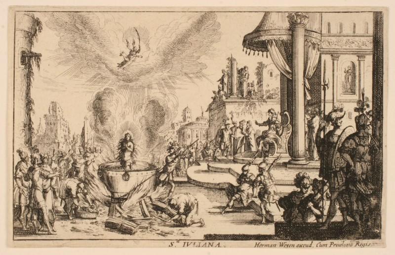 Martyre de sainte Julienne de Nicomédie_0