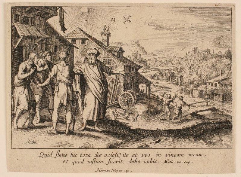 Ensemble de douze paraboles : Parabole des ouvriers de la vigne