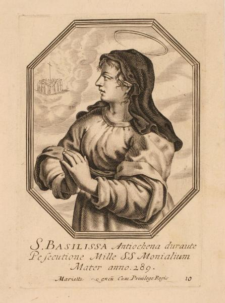 Sainte Basilisse d'Antioche