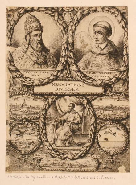 Frontispice de l'ouvrage d'Hippolyte d'Este_0