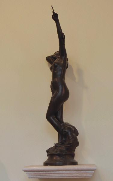 PUECH Denys (sculpteur), COLIN A M (fondeur) : Le Sommeil de l'étoile, Etoile du soir