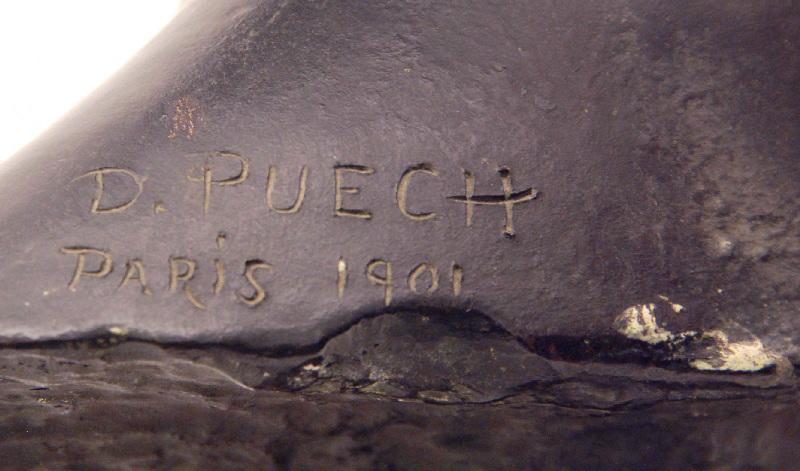 PUECH Denys (sculpteur) : Jeune Romain