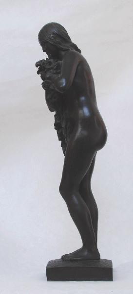 PUECH Denys (sculpteur) : Les Lys, La Pureté