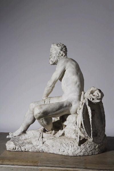 PUECH Denys (sculpteur) : Mézence blessé
