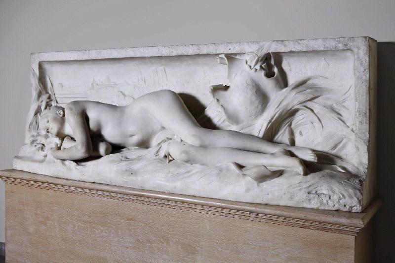 PUECH Denys (sculpteur) : La Seine