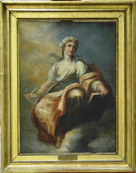 anonyme (peintre) : Clio, muse de l'histoire
