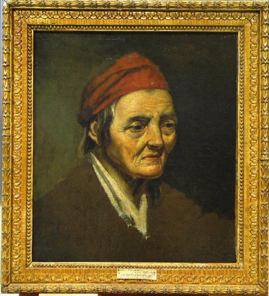 Tête de vieillard maladif ; Vieillard au bonnet rouge_0