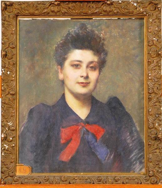 Portrait de Madame Cauvin ; Antoinette Cauvin dite la Citoyenne Sorgue_0