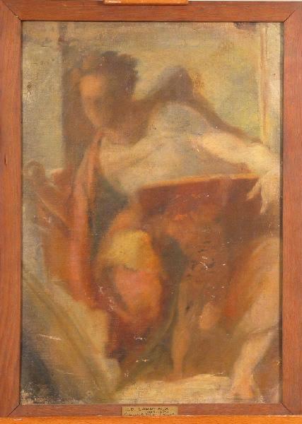 Le Prophète Daniel de Michel-Ange (Esquisse d'après le plafond de la chapelle Sixtine)_0