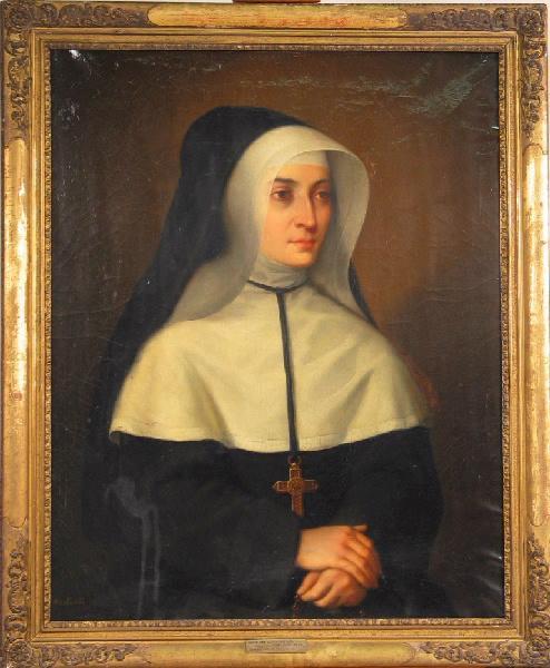 Portrait d'une religieuse_0