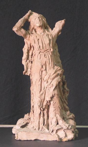 PUECH Denys (sculpteur) : Femme chantant