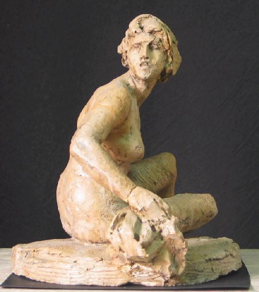 PUECH Denys (sculpteur) : Baigneuse
