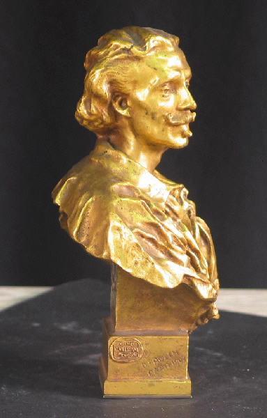 PUECH Denys (sculpteur), VALSUANI Claude (fondeur) : Louis Diemer