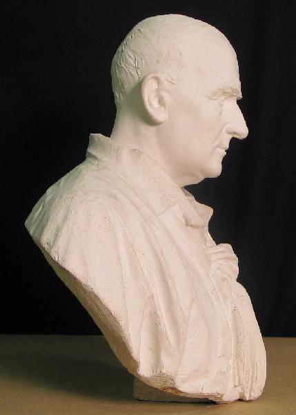 PUECH Denys (sculpteur) : Autoportrait
