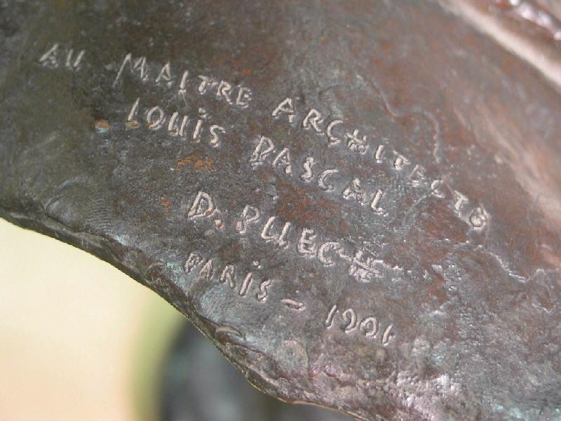 PUECH Denys (sculpteur), BINGEN Pierre (fondeur) : Jean-Louis Pascal