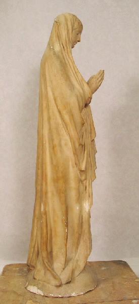 PUECH Denys (sculpteur) : Vierge dite d'Auteuil