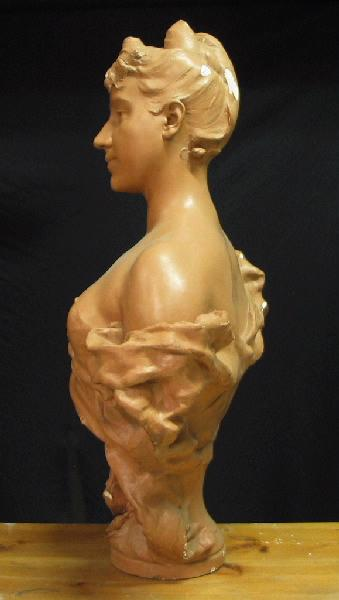 PUECH Denys (sculpteur) : Rita Sangalli