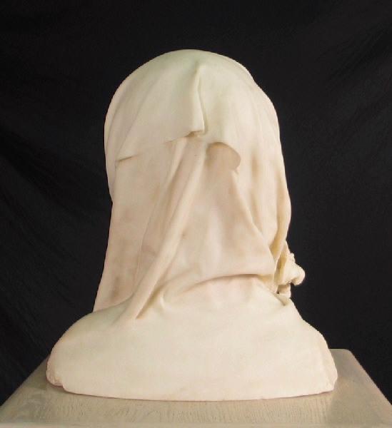 PUECH Denys (sculpteur) : Jeune Fille au lys