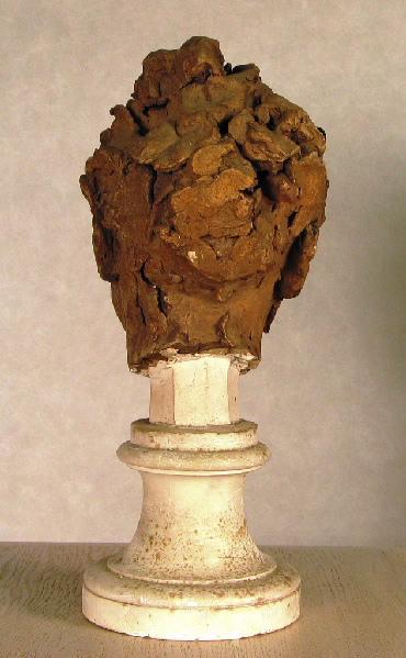 PUECH Denys (sculpteur) : Tête d'homme riant