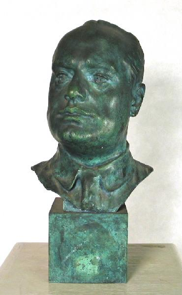 PUECH Denys (sculpteur), VALSUANI Claude (fondeur) : Mussolini