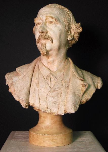 PUECH Denys (sculpteur) : Paul Mantz (Critique d'Art (1821-1895))
