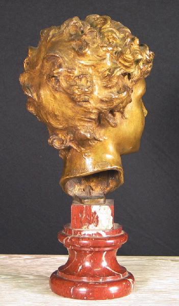PUECH Denys (sculpteur), BISCEGLIA Mario (fondeur) : Jeune Romain
