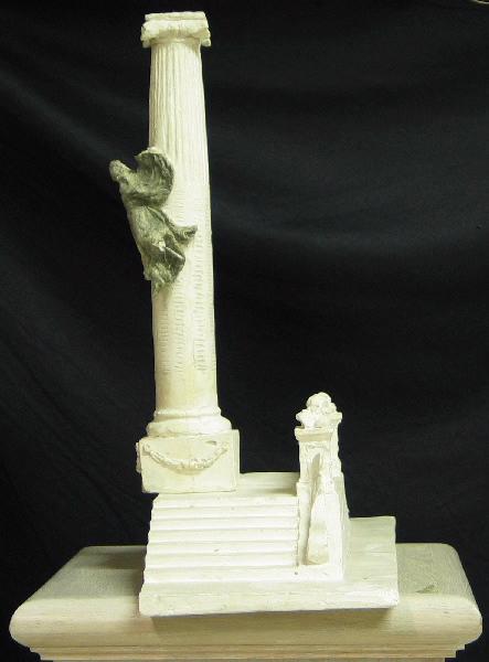 PUECH Denys (sculpteur) : Monument aux morts de Rodez (Colonne avec Victoire à mi-hauteur)