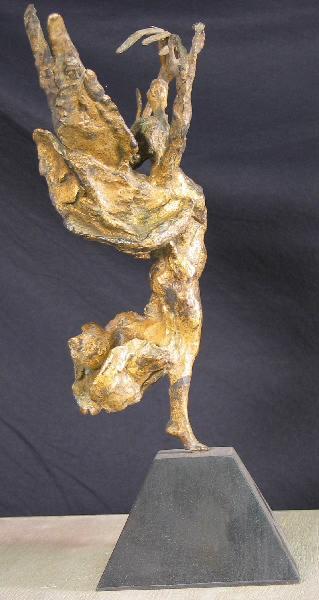PUECH Denys (sculpteur) : Esquisse de la Victoire
