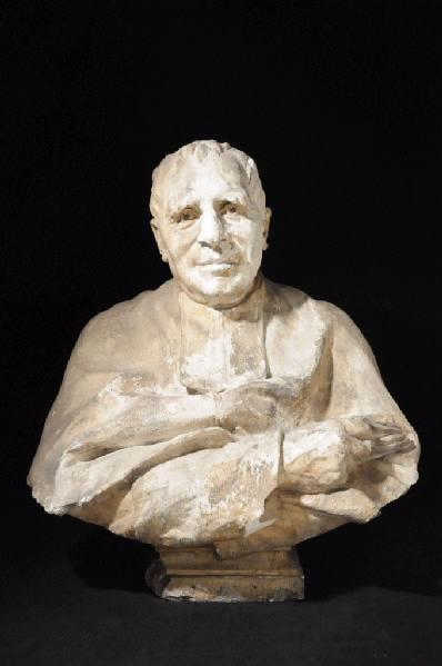 PUECH Denys (sculpteur) : Buste de l'abbé Bessou