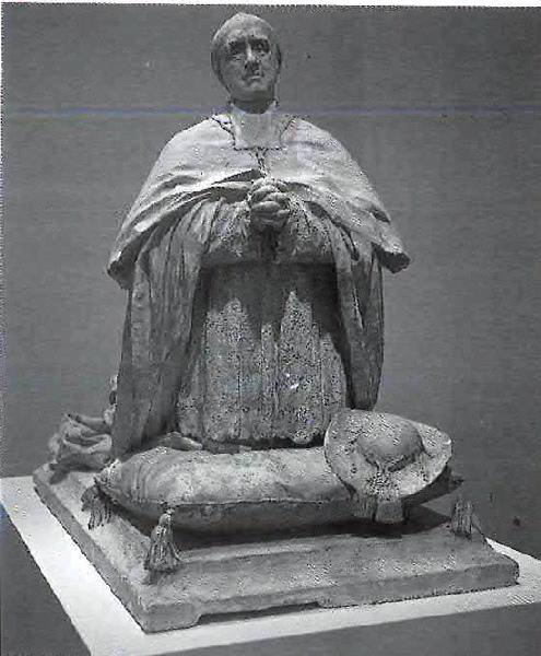 PUECH Denys (sculpteur) : Tombeau du cardinal Bourret