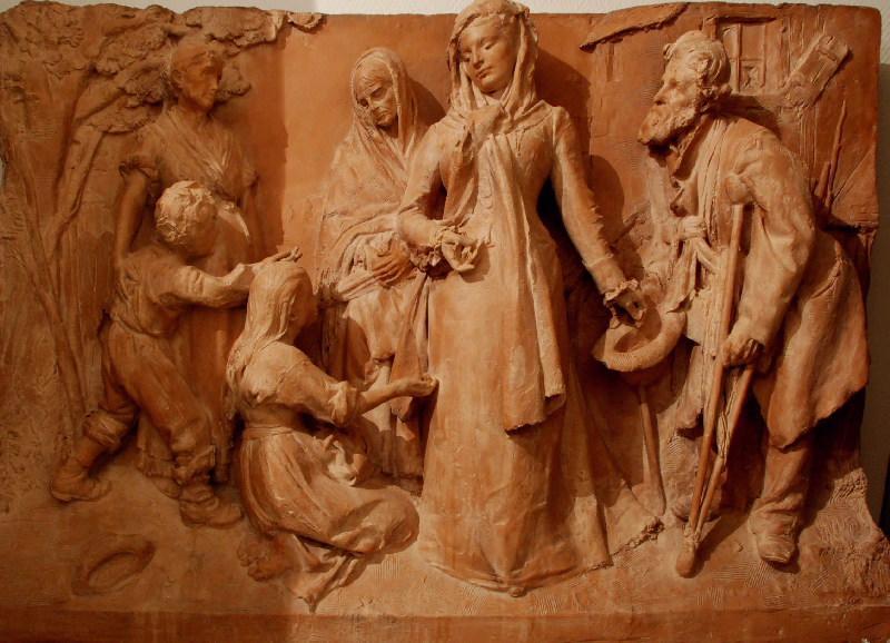 PUECH Denys (sculpteur) : La Charité