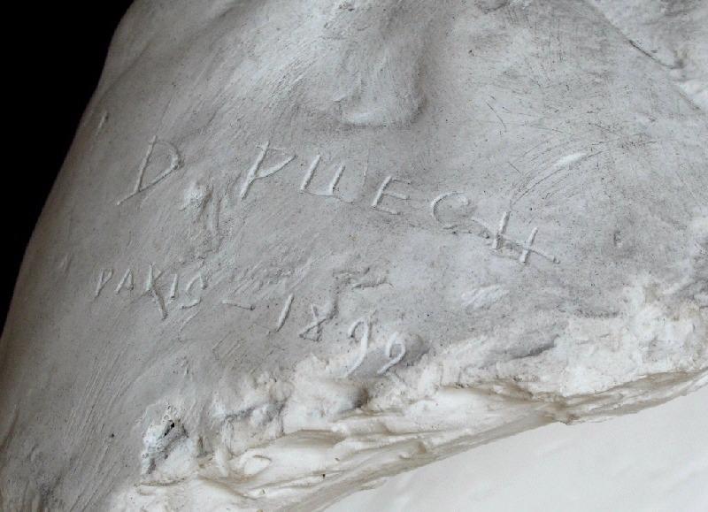 PUECH Denys (sculpteur) : Ernest Constans (Ancien ministre)