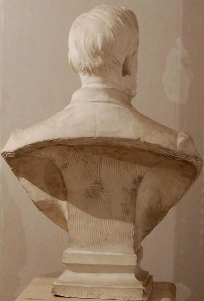 PUECH Denys (sculpteur) : Buste d'Alfred Fouillée