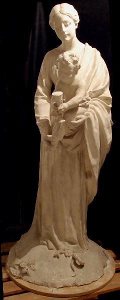 PUECH Denys (sculpteur) : Vierge à l'Enfant dite du Séminaire