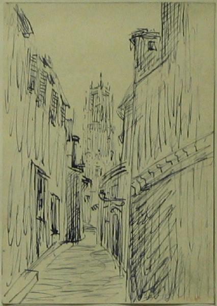 PUECH Denys (dessinateur) : Cathédrale de Rodez