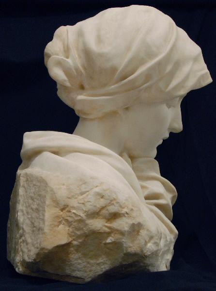 PUECH Denys (sculpteur) : Jeunesse pensive, Méditation
