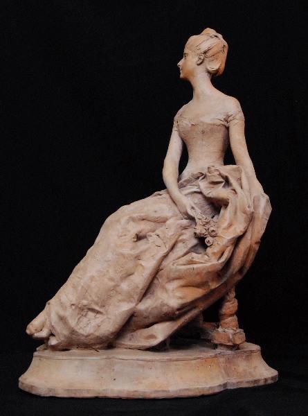 PUECH Denys (sculpteur) : Madame Hochon