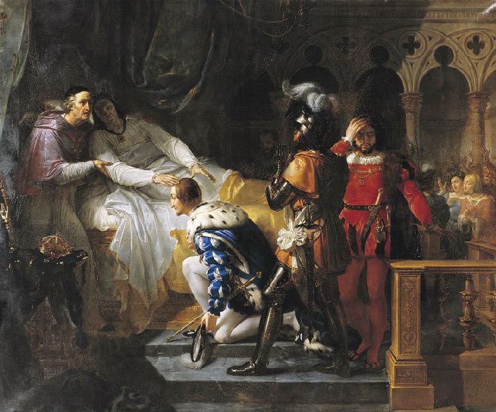 La mort de Louis XII surnommé le père du peuple_0