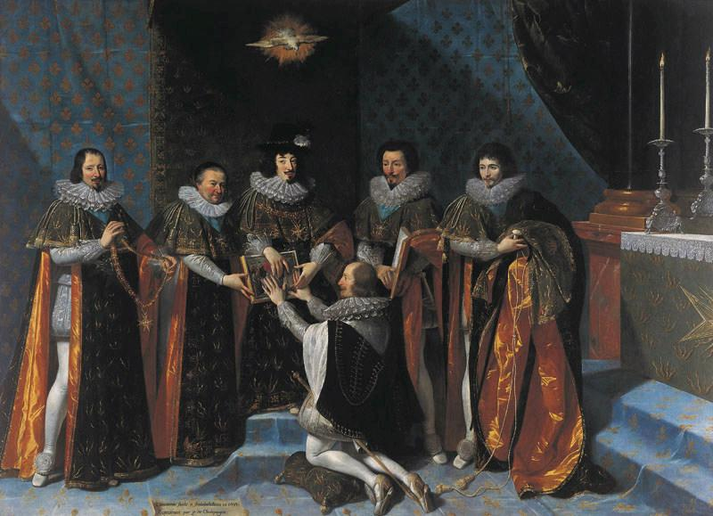 Réception d'Henri d'Orléans duc de Longueville, dans l'ordre du Saint-Esprit par le roi Louis XIII, le 15 mai 1633_0