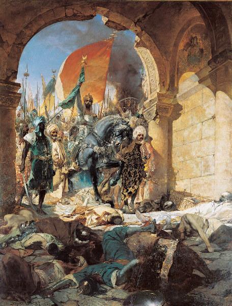 Entrée du sultan Mehmet II à Constantinople le 29 mai 1453 ; Entrée de Mahomet II à Constantinople (Ancien titre)_0