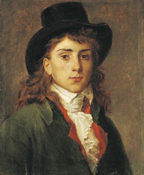 Portrait d'Antoine-Jean Gros à l'âge de vingt ans_0