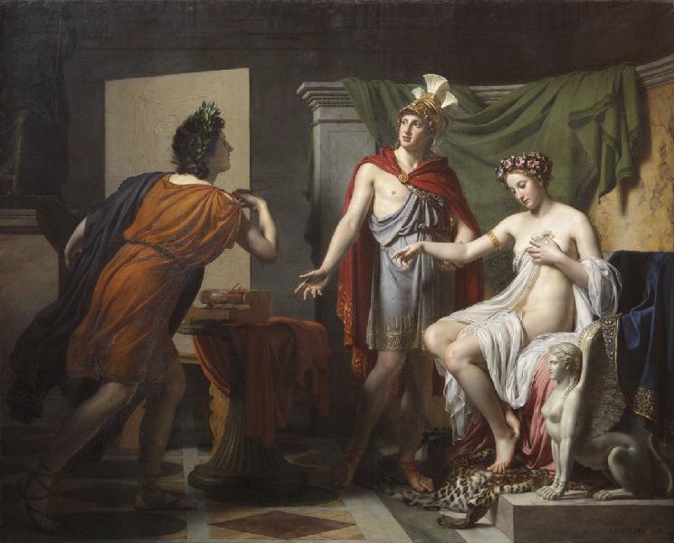 Générosité d'Alexandre ; Alexandre cède Campaspe, sa maîtresse, à Apelle_0